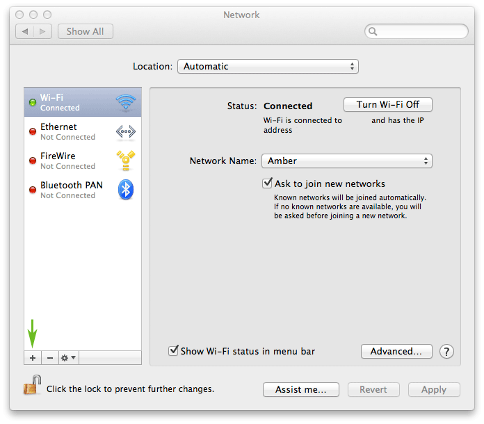 How to set up a VPN on a Mac laptop or desktop: step 2