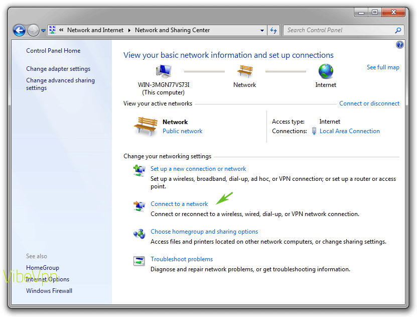 How to set up a VPN on a PC laptop or desktop: step 2