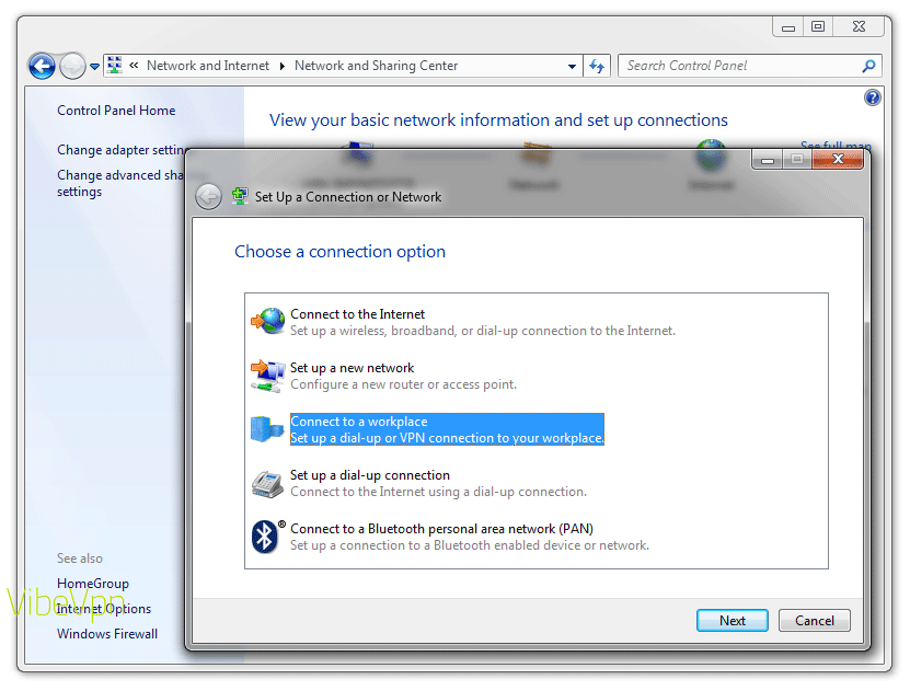 How to set up a VPN on a PC laptop or desktop: step 3
