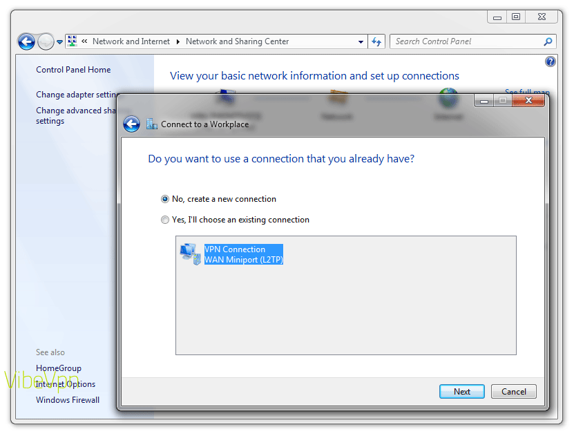 How to set up a VPN on a PC laptop or desktop: step 4