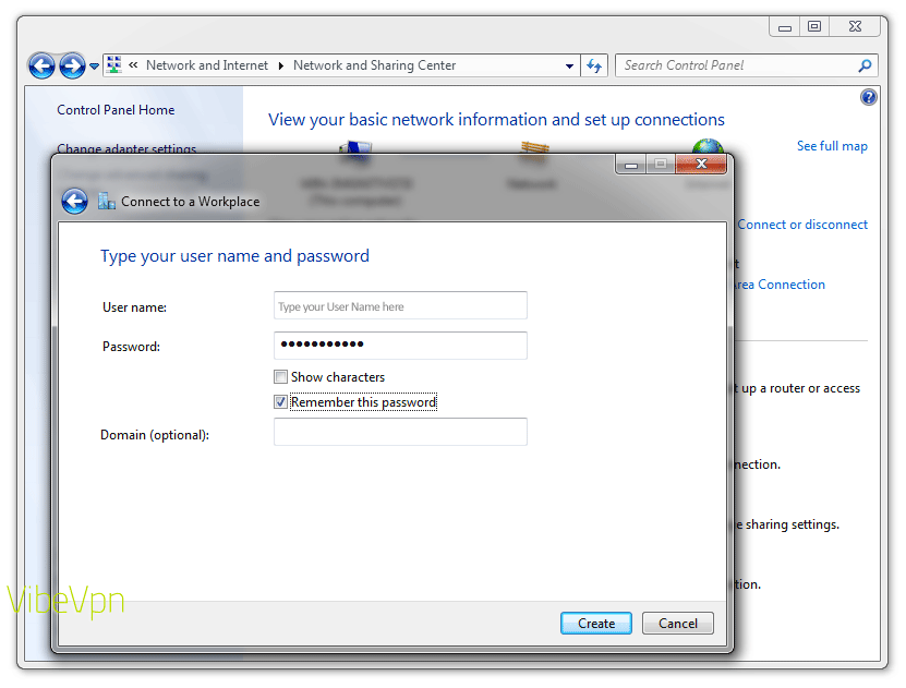 How to set up a VPN on a PC laptop or desktop: step 7
